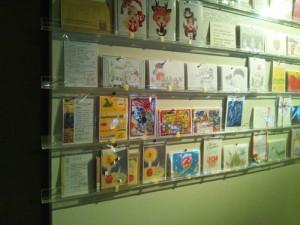 ポストカード展示風景1