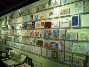 ポストカード展示風景2