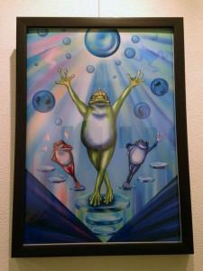 カエルの歌が聞こえてくるよ展・展示4